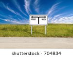 Small photo of Poverty & Wealth sign
