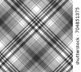 gray black white pixel check... | Shutterstock .eps vector #704851375