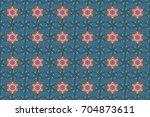 line seamless pattern. raster... | Shutterstock . vector #704873611