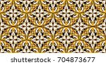 colorful seamless textured... | Shutterstock . vector #704873677