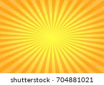 abstract bright yellow rays... | Shutterstock .eps vector #704881021