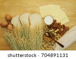 food allergy. food can cause... | Shutterstock . vector #704891131