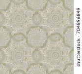 ethnic seamless pattern.... | Shutterstock . vector #704896849