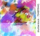 seamless art painter abstract... | Shutterstock . vector #704899441