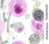 seamless art painter abstract... | Shutterstock . vector #704899459