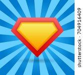superhero background. vector... | Shutterstock .eps vector #704916409