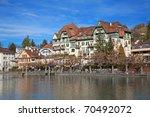 xix century building in thun... | Shutterstock . vector #70492072