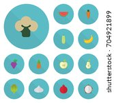 Flat Icons Cluster  Jonagold ...