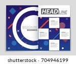 abstract vector layout... | Shutterstock .eps vector #704946199