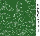 bat vector illustration. cute...   Shutterstock .eps vector #704974129