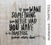 inspirational quote. best... | Shutterstock . vector #704979211