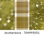 set of three gold backgrounds... | Shutterstock . vector #704995051