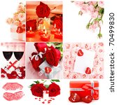 Love Concept Collage With...