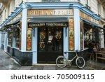 paris  france   may  2016 ... | Shutterstock . vector #705009115