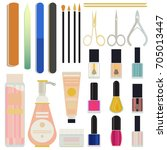 a collection set vector of... | Shutterstock .eps vector #705013447