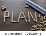 business vision  planning ... | Shutterstock . vector #705020941