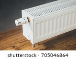 heating radiator at home | Shutterstock . vector #705046864