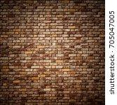 brick wall background   Shutterstock . vector #705047005