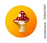 mushroom icon against the...
