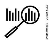 analysis icon | Shutterstock .eps vector #705055669