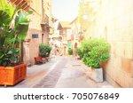 Poble Espanyol Street With...