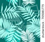 vector illustration of  leave... | Shutterstock .eps vector #705081775