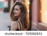 beautiful woman | Shutterstock . vector #705082831