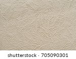 beige paper with embossed leaves   Shutterstock . vector #705090301