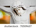 Marble Statue Of The...