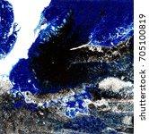 liquid acrylic paint  liquid...   Shutterstock . vector #705100819