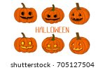 hand drawn sketch style funny...   Shutterstock .eps vector #705127504
