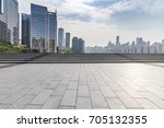 panoramic skyline and buildings ... | Shutterstock . vector #705132355