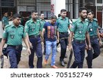Small photo of DHAKA, BANGLADESH – AUGUST 29, 2017: Court on jailed the Rana Plaza owner for three years for graft; the first of many charges laid against him after the garment factory complex collapsed in 2013.
