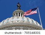 Stock photo us national capitol in washington dc american landmark 705168331