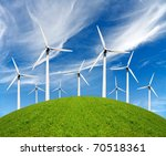 ecology power | Shutterstock . vector #70518361