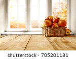 Autumn Golden Table By The...