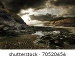 Dramatic Coastline Landscape Of ...