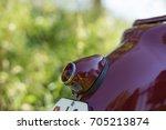 old red bike | Shutterstock . vector #705213874