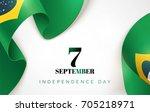 7 september.brazil independence ... | Shutterstock .eps vector #705218971