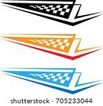 vehicle graphics  stripe  ...   Shutterstock .eps vector #705233044