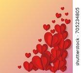 graphic love  vector | Shutterstock .eps vector #705234805