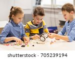 education  children  technology ... | Shutterstock . vector #705239194