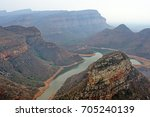blyde river canyon in...   Shutterstock . vector #705240139