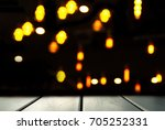 blur orange lamp light in the... | Shutterstock . vector #705252331