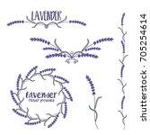 set of template logo design of... | Shutterstock .eps vector #705254614