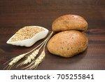 bread and cereals   Shutterstock . vector #705255841