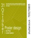 minimalist poster design....   Shutterstock .eps vector #705270805