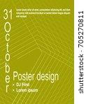 minimalist poster design....   Shutterstock .eps vector #705270811