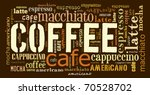 i love coffee    Shutterstock . vector #70528702