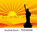 ny city silhouette